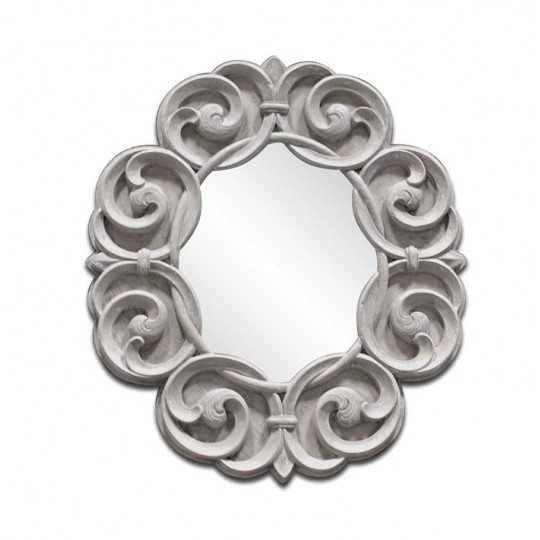 CIRCULAR ARABESQUE MIRROR