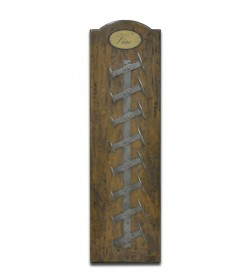 SMALL VERTICAL WINE WALL RACK