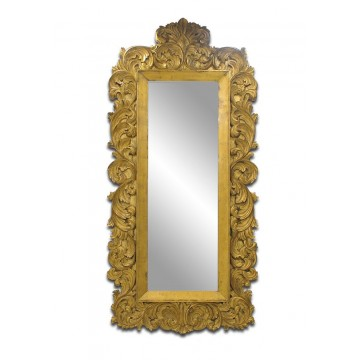 MIRROR LIVVIER GRAND FLOOR ( ANTIQUE GOLD LEAF )
