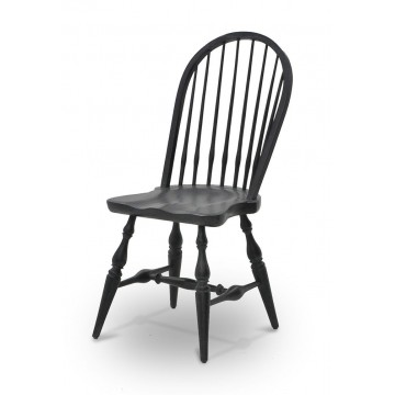 WINDSOR SIDE CHAIR ( GRAPHITE )