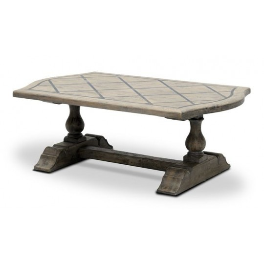 BRIONNE COFFEE TABLE (SALVAGE GREY BROWN)