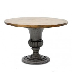 VASE BASE ROUND DINING TABLE