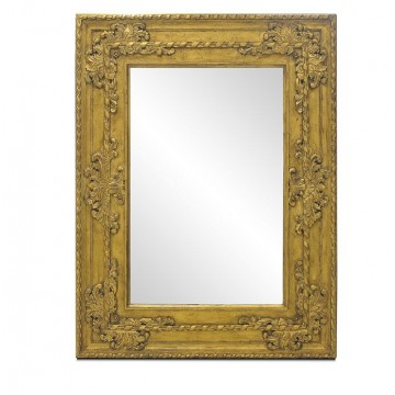 LOUIS MIRROR TYPE 3(ANTIQUE GOLD GLAZE )