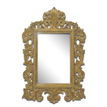 CURVED LINEAR MIRROR TYPE 2( ANTIQUE GOLD GLAZE)