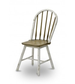 WINDSOR SIDE CHAIR 5 RUNG BACK WITH CYLINDER LEG