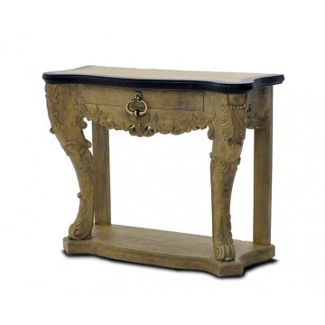 CARVED CONSOLE ( SMOKEHOUSE LIGHT - GRAPHITE )