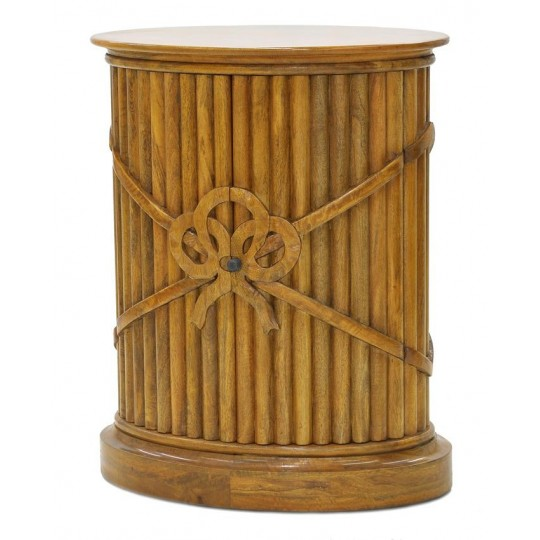 REGENCY RIBBON PEDESTAL (HONEYCOMB SATIN)