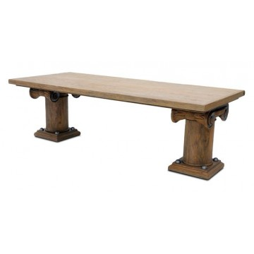 NEO CLASSICAL CAPITAL DINING TABLE (SMOKEHOUSE)