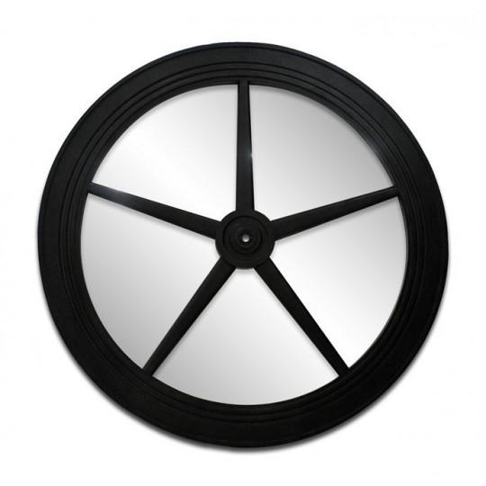 BELT DRIVE PATTERN MIRROR DIA 1700 ( BLACK RUST )