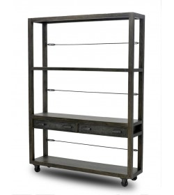 ELLIS BOOKCASE 2DWR