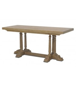 BALUSTER TRIPLE PEDESTAL CONSOLE
