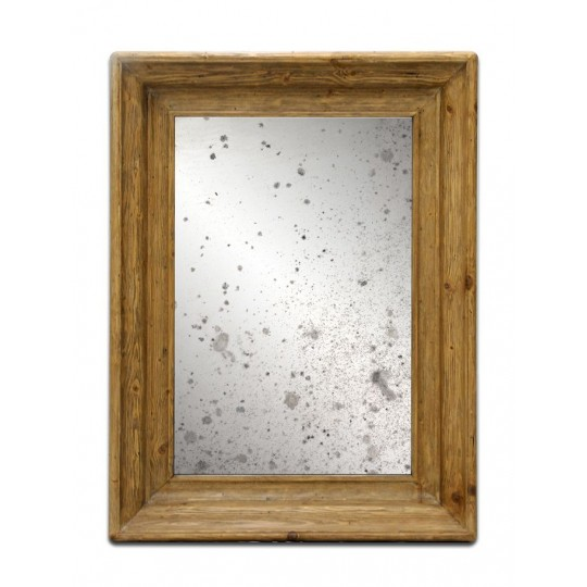 PINE WALL MIRROR (SMOKEHOUSE)