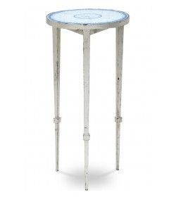 ARDENAY DRINKS TABLE SMALL, WITH MOSAIC TOP ROUND