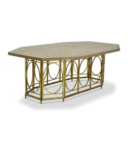 LANTERN BASE DINING TABLE