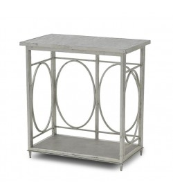LANTERN BASE CONSOLE  SMALL WITH MOSAIC TOP