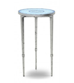 ARDENAY DRINKS TABLE WITH MOSAIC TOP HEXAGONAL