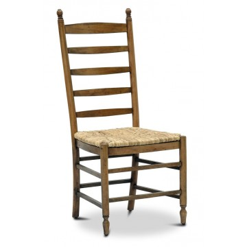 PYRENEES SIDE CHAIR (RUSH SEAT, DRIFTWOOD)-A-Recovered