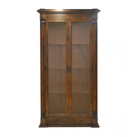 VIGNOBLE VITRINE KD ( COFFEE BROWN RUSTIC LIGHT )