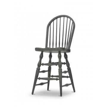 WINDSOR STOOL COUNTER ( SLATE GREY ) E