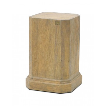 PLINTH FOR REEDED BALUSTER VASE ( SMOKEHOUSE )