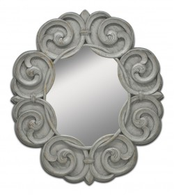 ARABESQUE OVAL MIRROR
